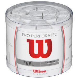 60 overgrips Wilson perforados