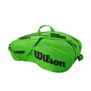 Mister Tennis Wilson Team III x 6 Bolsa Tenis