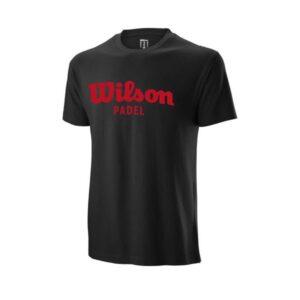 Camiseta Wilson Pádel negra