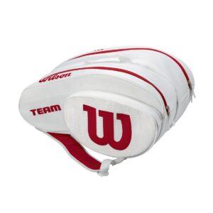 Bolsa de pádel Wilson White/Red