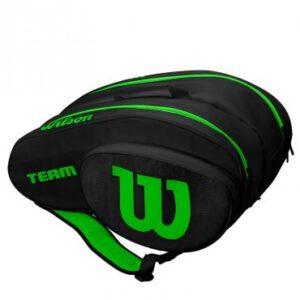 Bolsa de pádel Wilson Black/Green